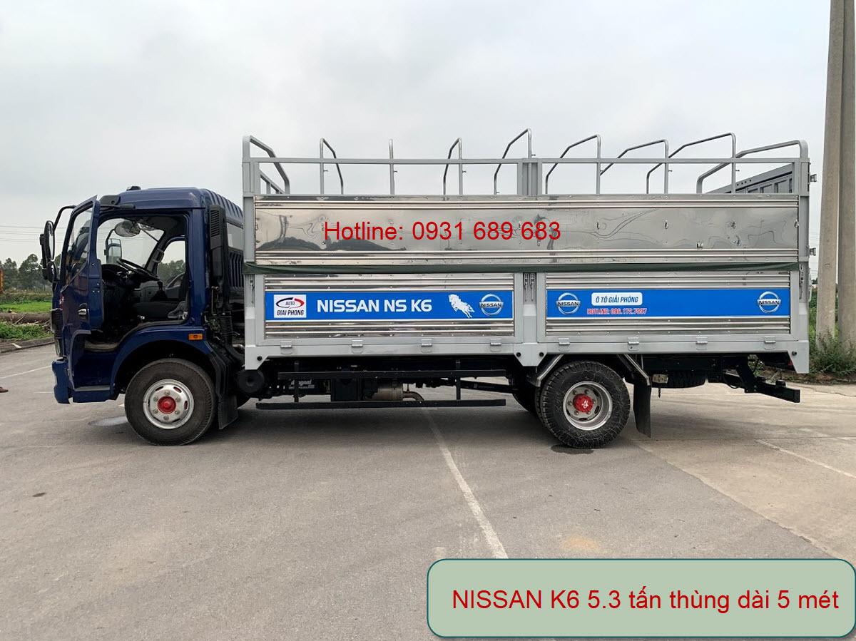 xe tải 5 tấn k6 đồng vàng