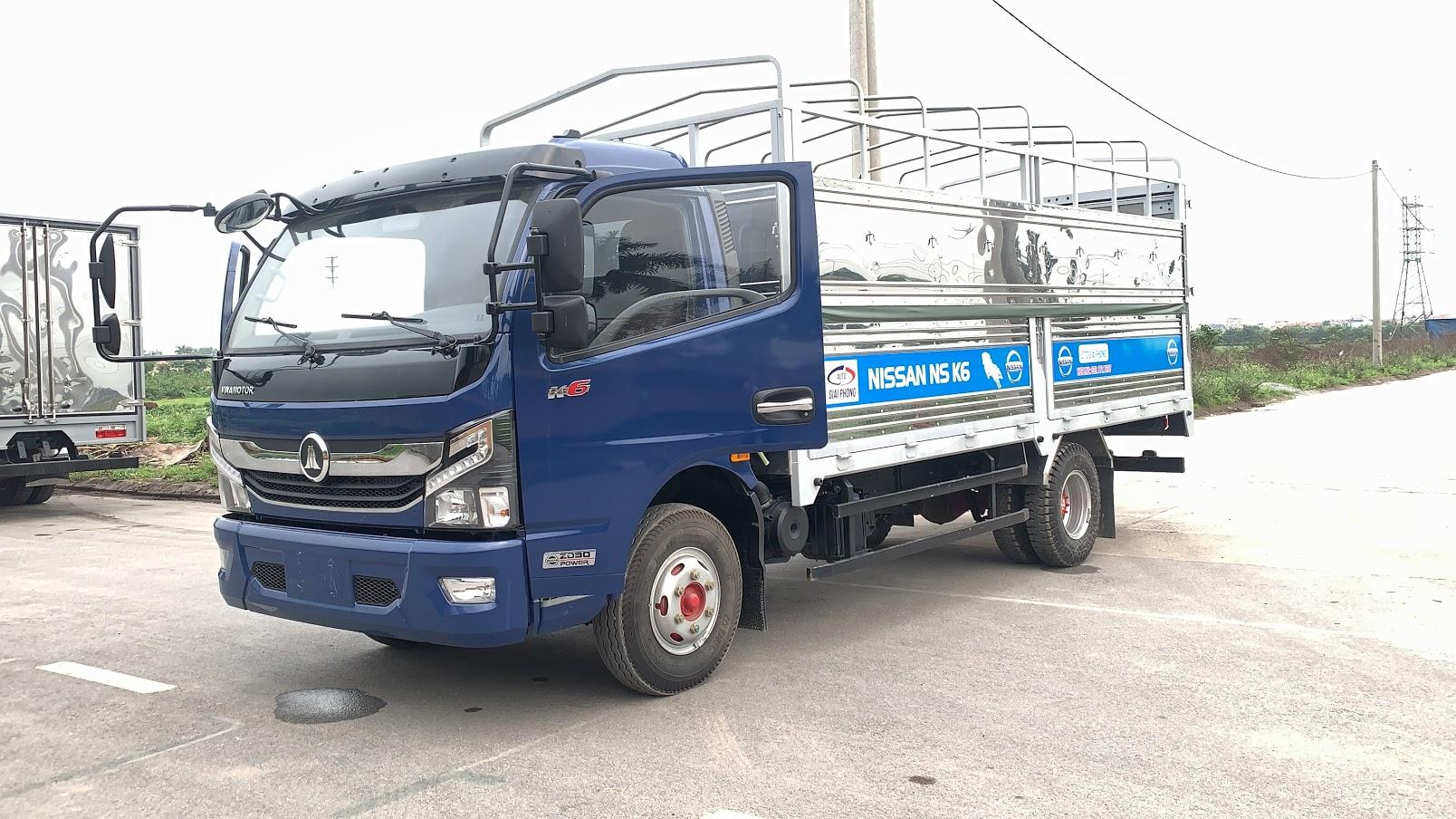 xe tải nissan k6 Đồng Vàng