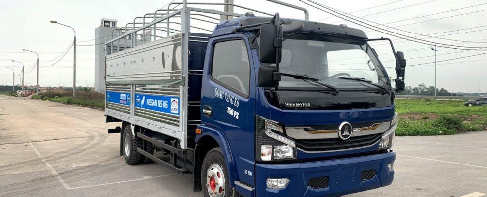 Xe tải 5 tấn Nissan K6 ở Cao Bằng