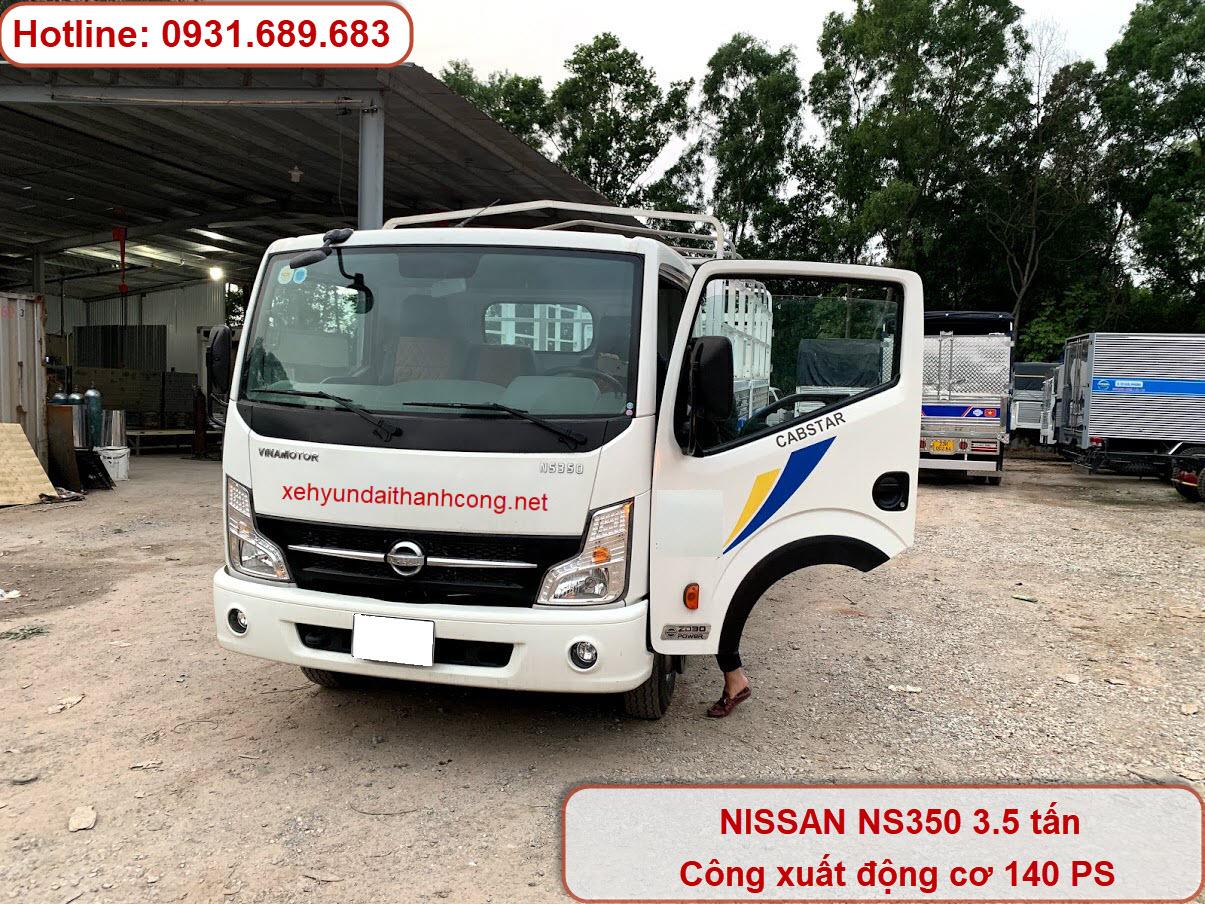 xe tải 3.5 tấn NS350 thùng bạt