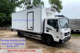 Hyundai Mighty EX8L đông lạnh 7 tấn phiên bản 2021