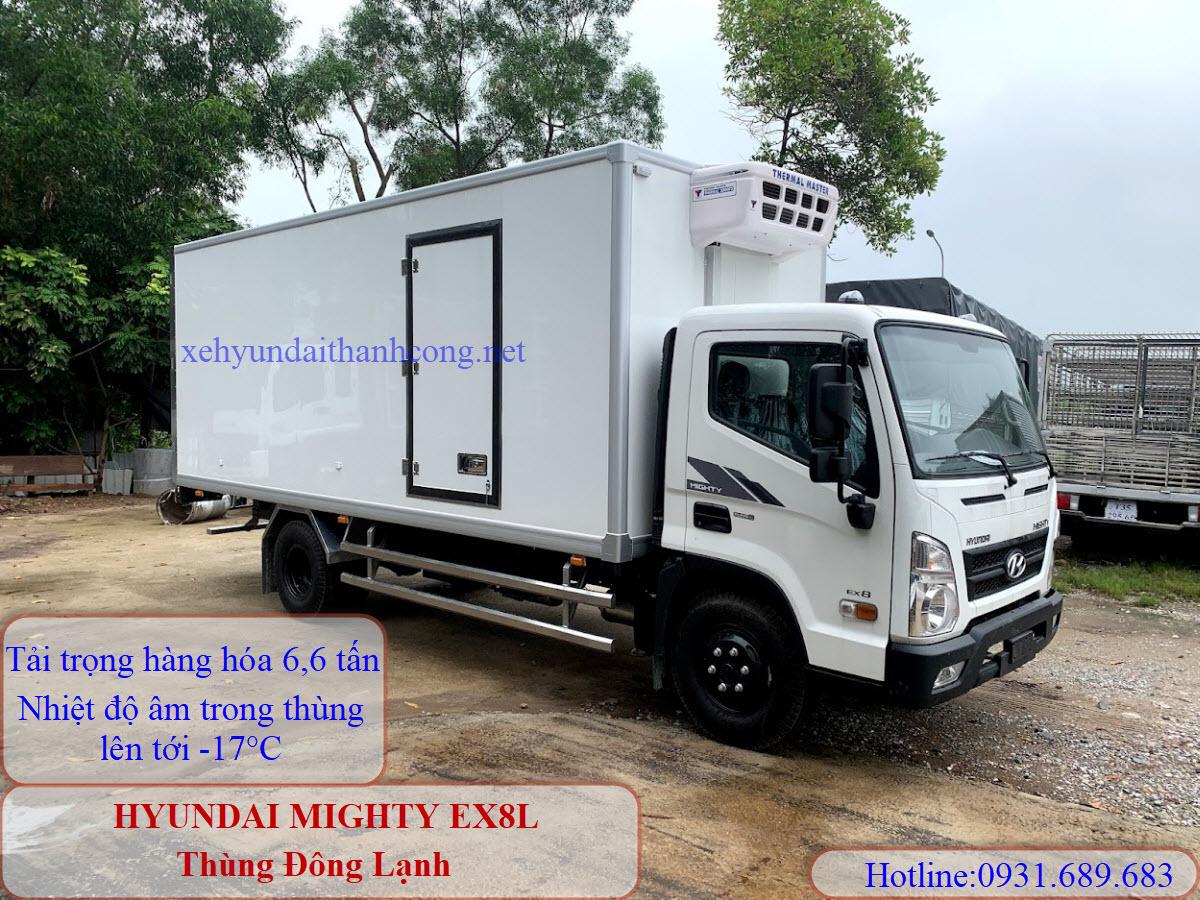 xe tải ex8l đông lạnh