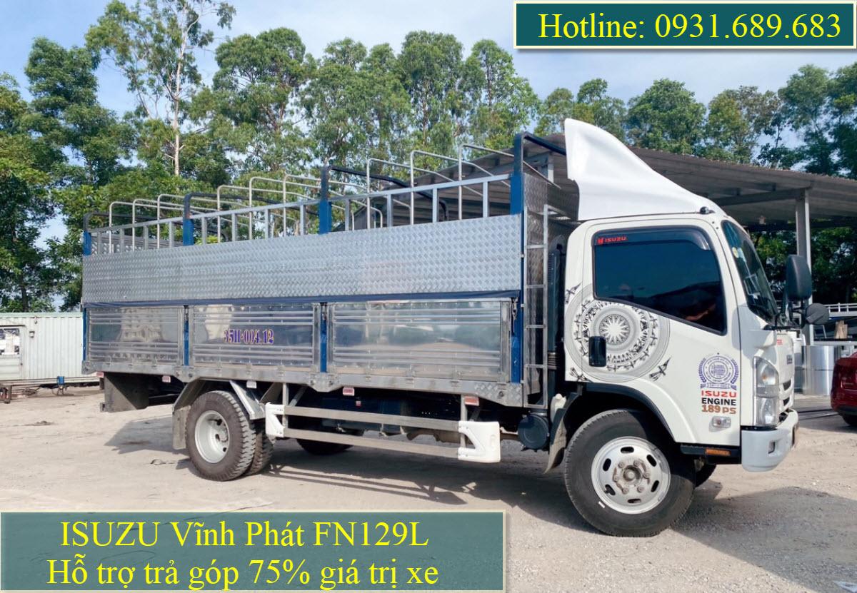 ISUZU FN129L thùng bạt