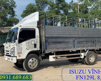 Xe tải ISUZU FN129L thùng bạt 8.2 tấn