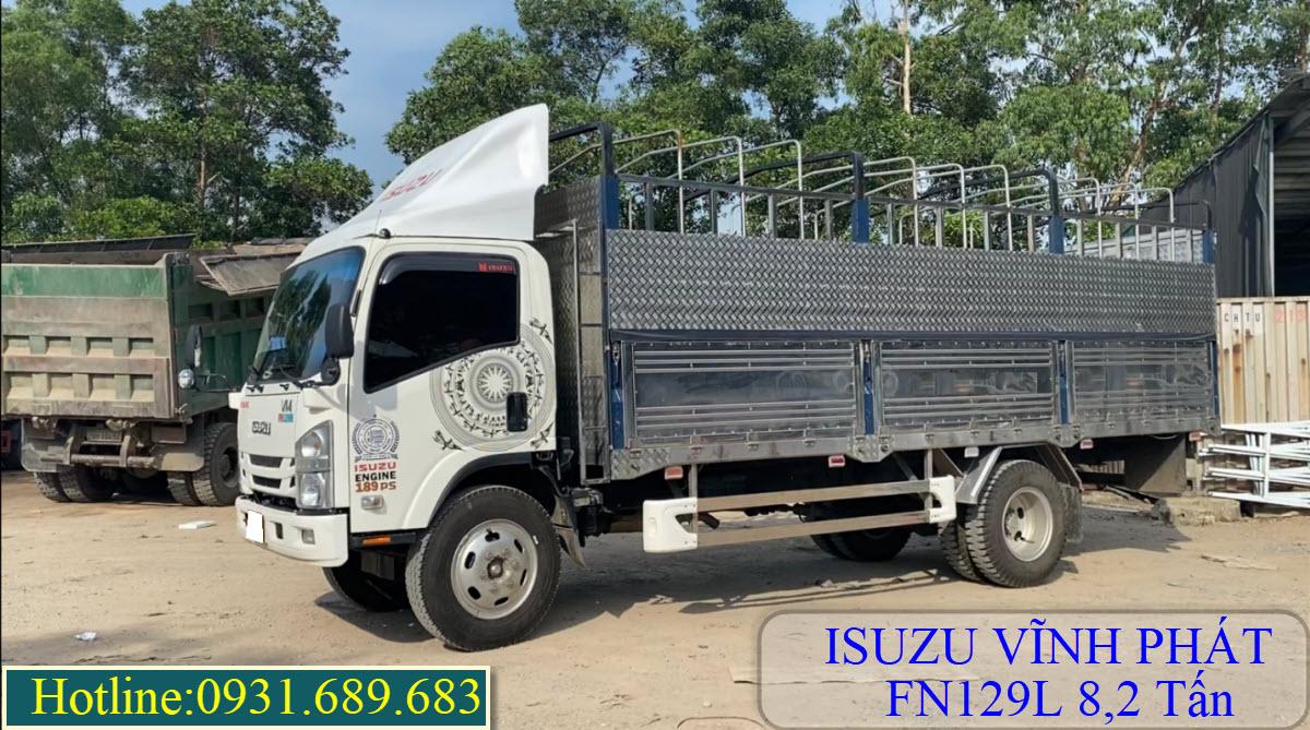 isuzu fn128l 8 tấn thùng bạt