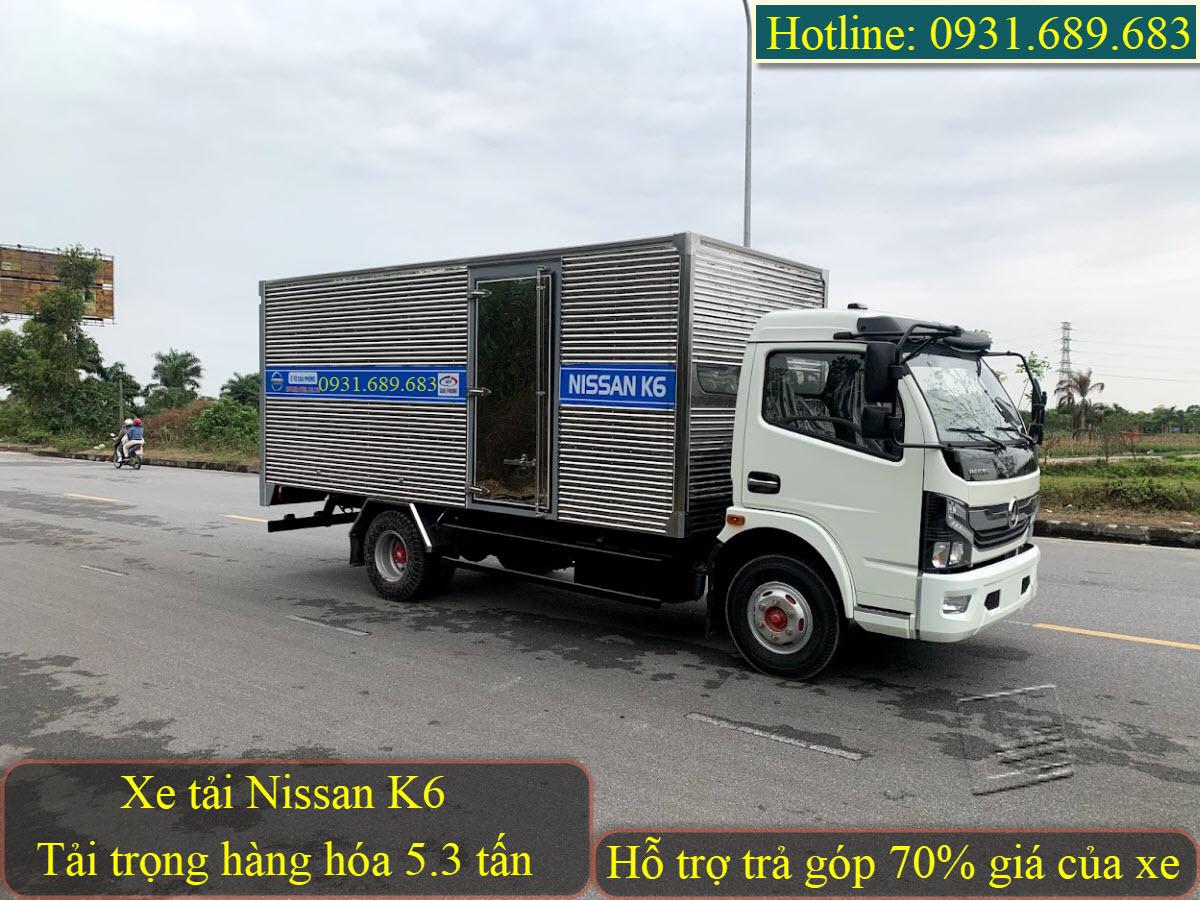 Nissan K6 thùng kín