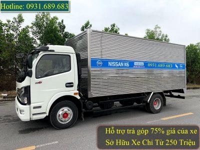 Giá xe tải 5 tấn Nissan K6 phiên bản 2021